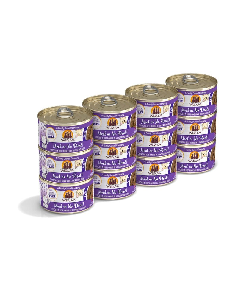 Weruva Weruva Meal or No Deal Chicken & Beef Dinner in a Hydrating Purée Wet Cat Food