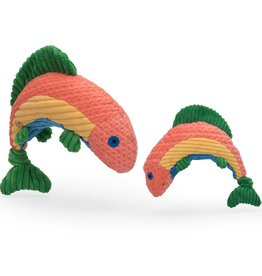 HuggleHounds Rauccous Rainbow Trout Knottie