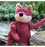 HuggleHounds Fox Knottie Plush Toy