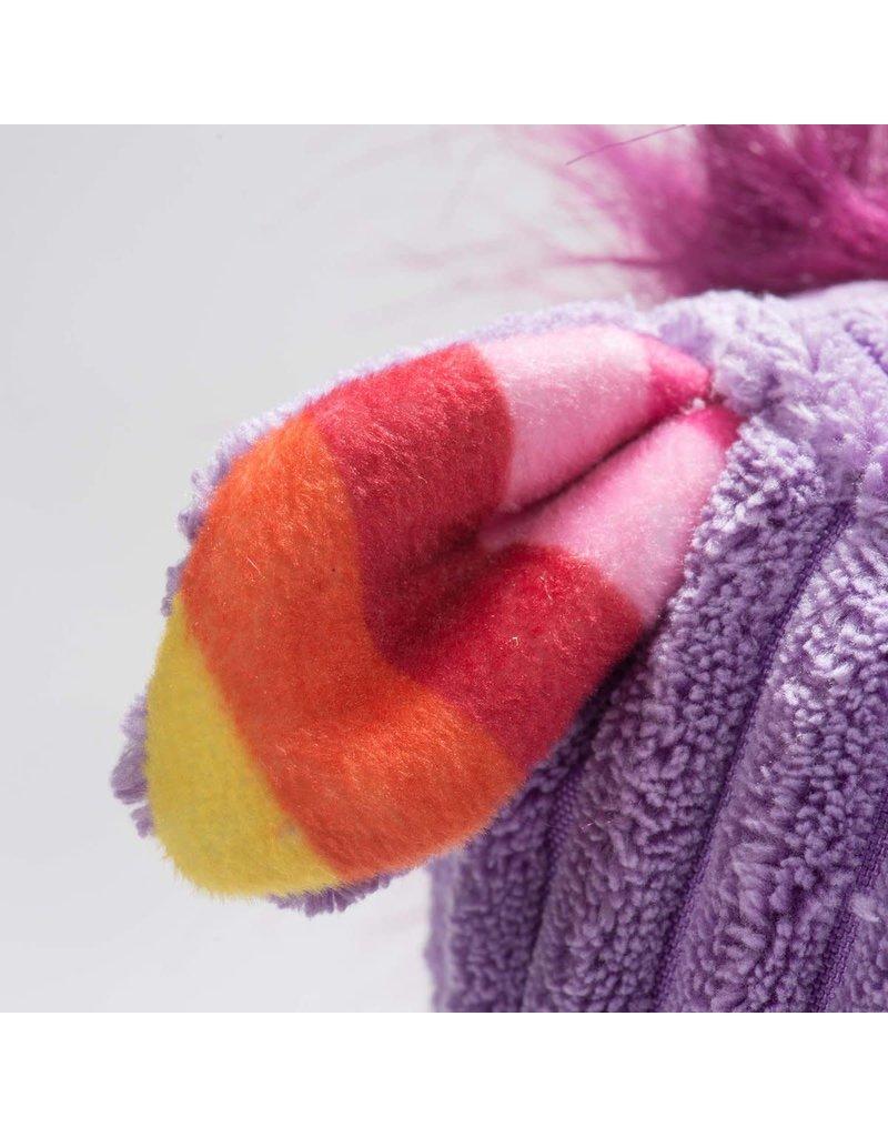 HuggleHounds Rainbow Unicorn Knottie Plush Toy