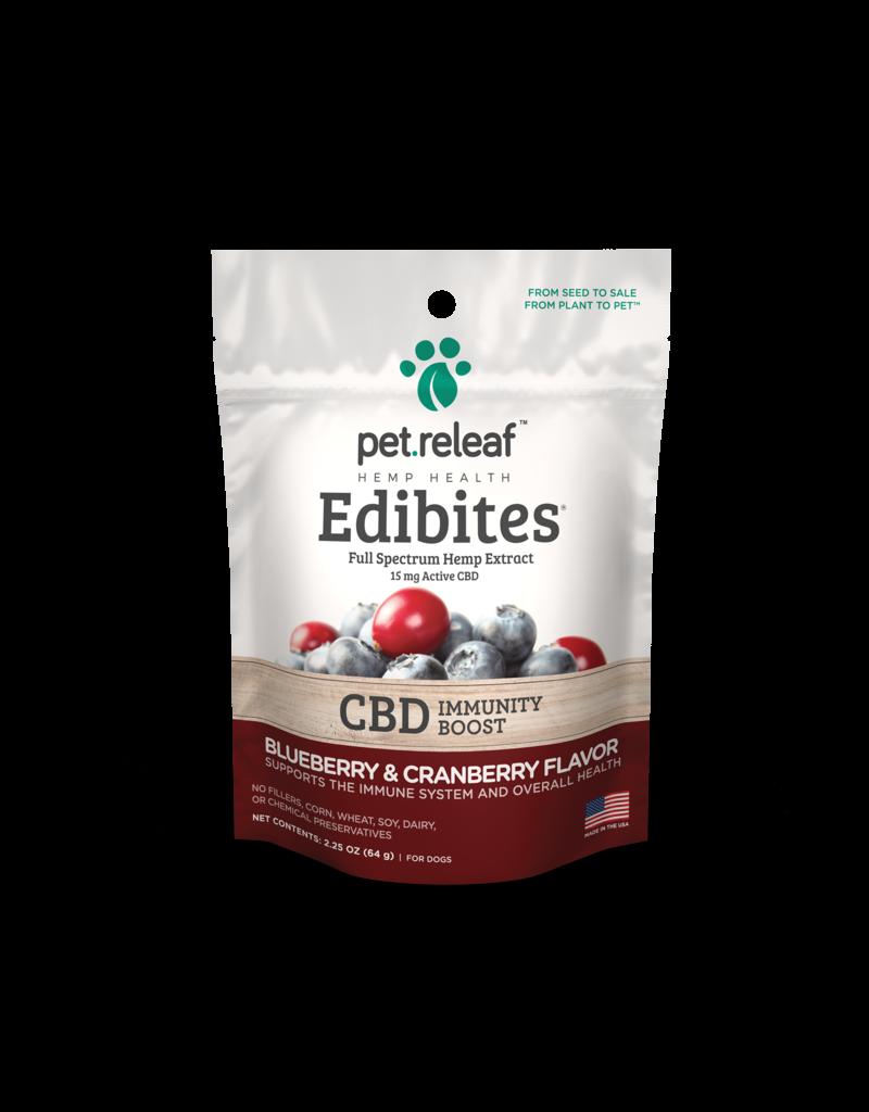 Pet Releaf Blueberry & Cranberry Edibites (Immunity Boost)