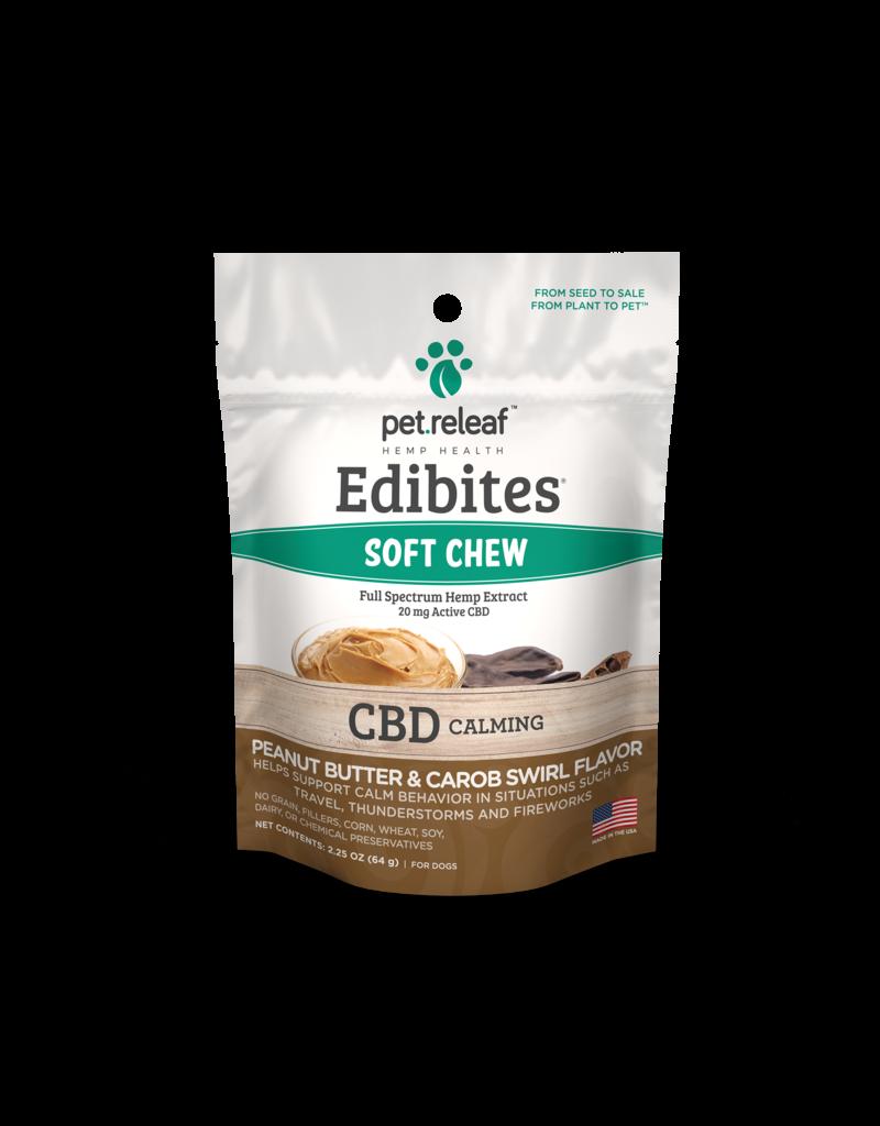 Pet Releaf Peanut Butter & Carob Edibites (Calming)