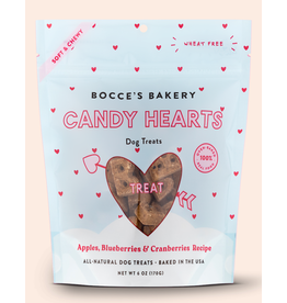 Bocce's Bakery Candy Hearts Soft & Chewy Treats