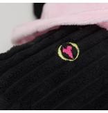 HuggleHounds Swanky Swan Boldly Black Knottie Plush Toy