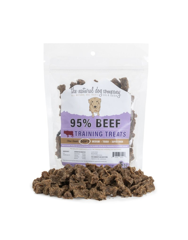 The Natural Dog Company 95% Beef Training Bites