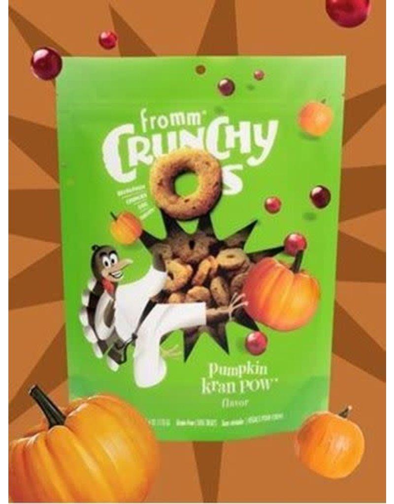 Fromm Family Crunchy O's Pumpkin Kran Pow Flavor Dog Treats