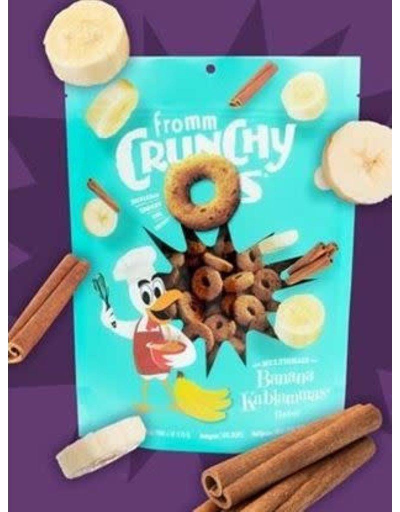 Fromm Family Crunchy O's Banana Kablammas Flavor Dog Treats
