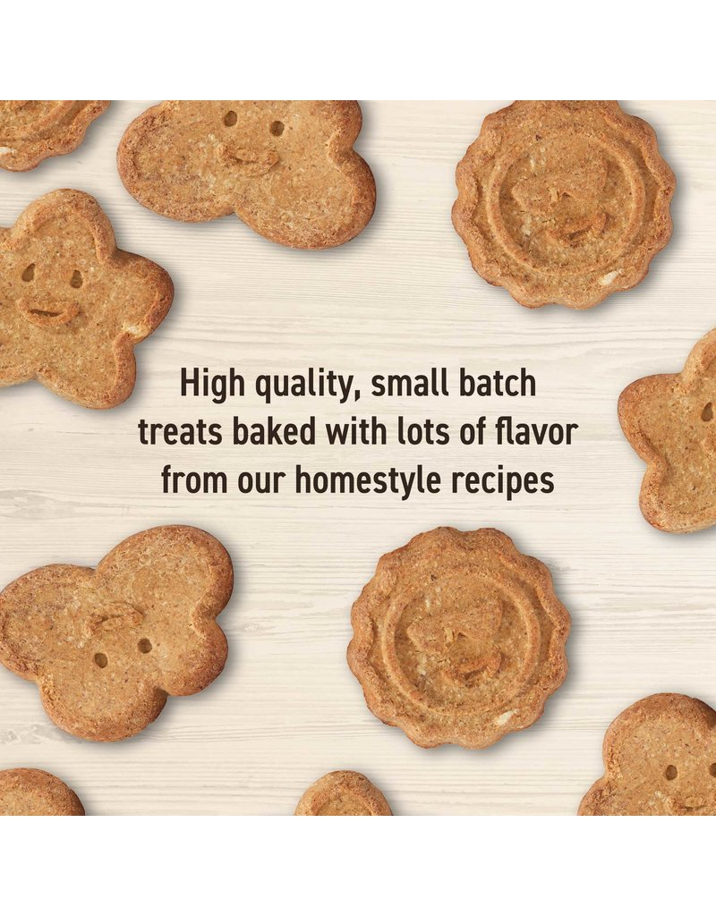 Wag More Bark Less Oven Baked Biscuits with Peanut Butter & Apples