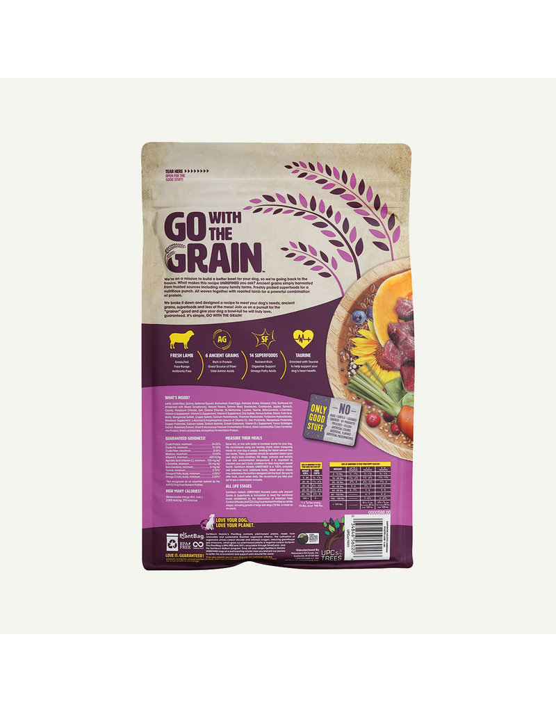 Earthborn Holistic Unrefined Roasted Lamb with Ancient Grains & Superfoods