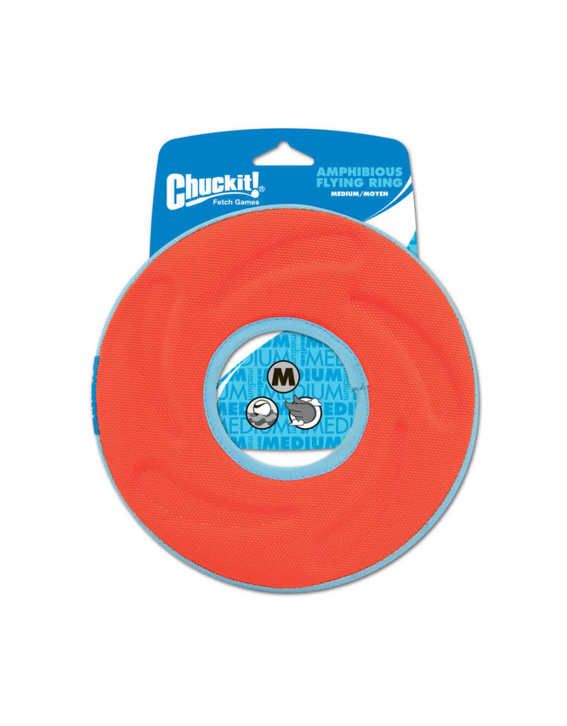 Chuckit! Fetch Games Chuckit! Zipflight Disc Dog Toy, Color Varies