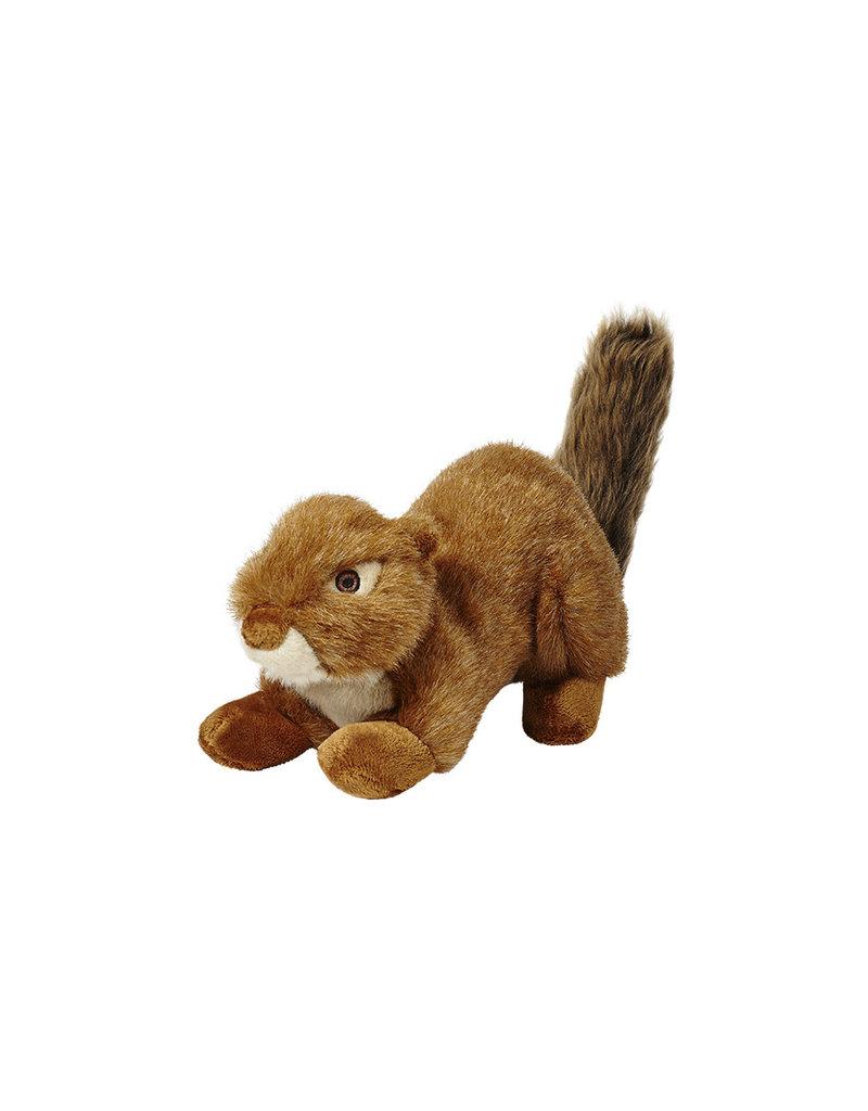 Fluff & Tuff Red Squirrel - No Squeaker