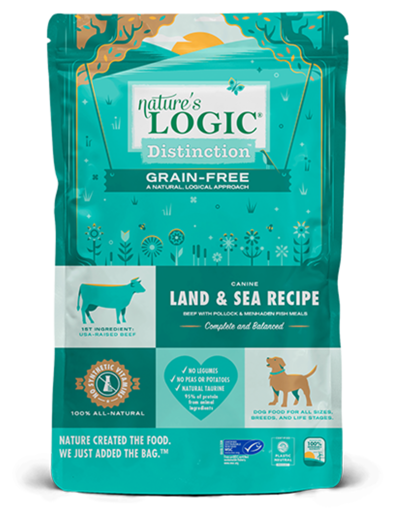 Nature's Logic Nature's Logic Distinction Grain-Free Land & Sea Recipe Dry Dog Food