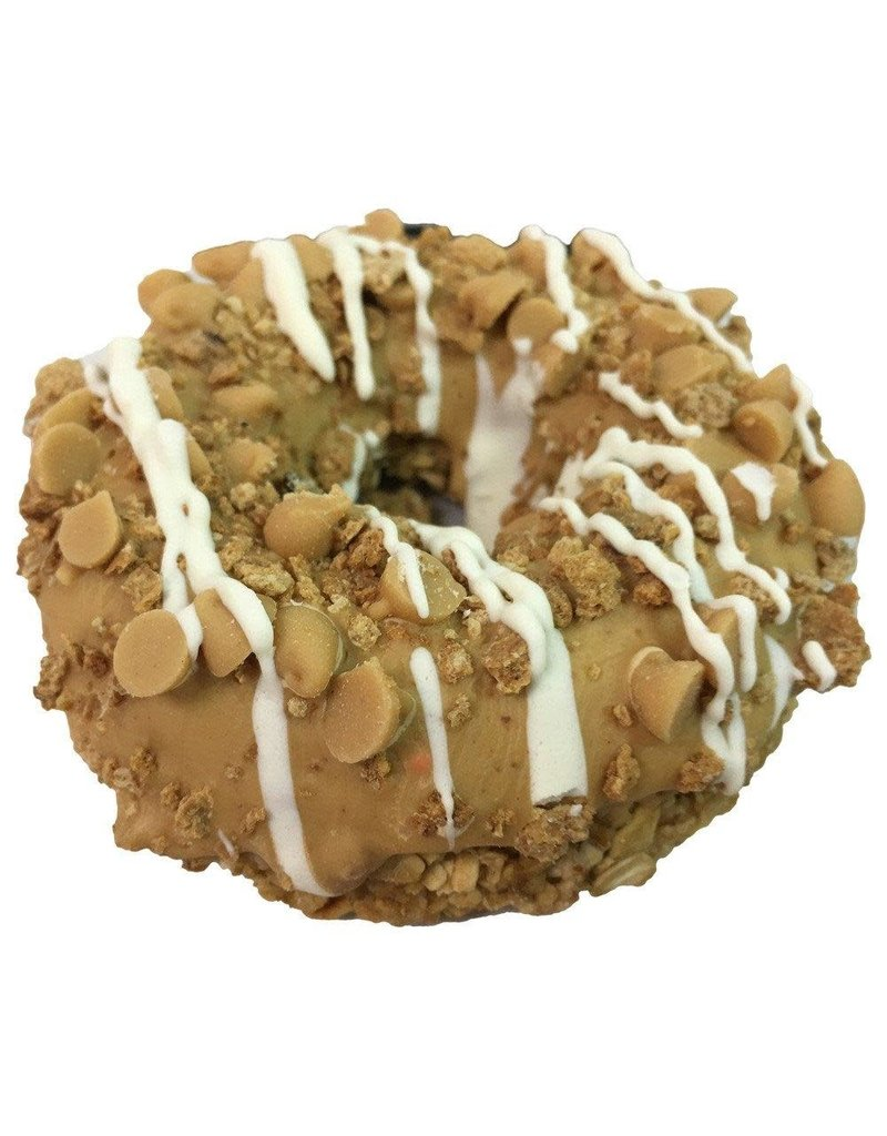 K9 Granola Factory Double Peanut Butter Crunch - Gourmet Donut Dog Treat