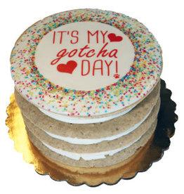 Preppy Puppy Bakery Gotcha Day Layered Cake
