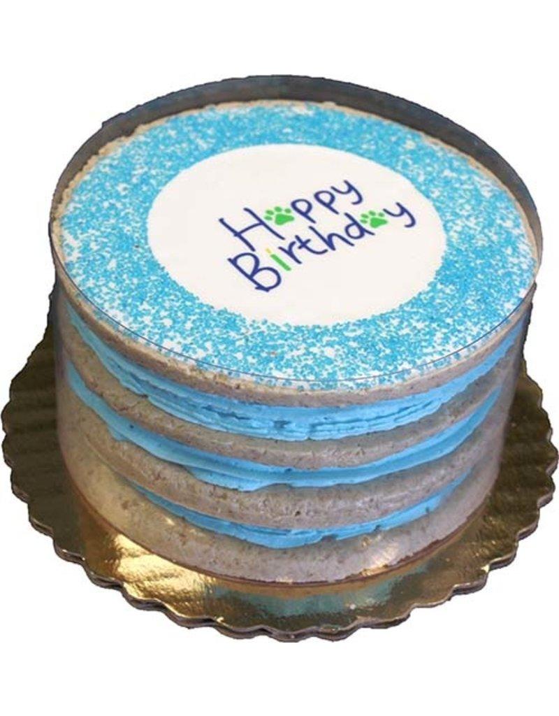 Preppy Puppy Bakery Birthday Layered Cake