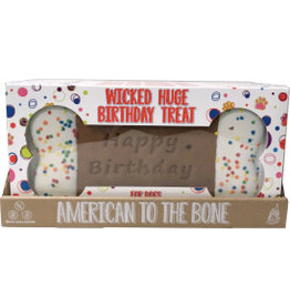 Preppy Puppy Bakery Wicked Huge Birthday Bone Cookie