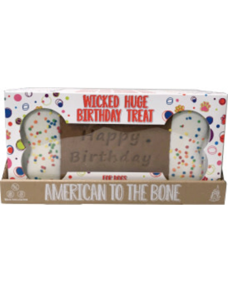 Preppy Puppy Bakery Wicked Huge Birthday Bone Cookie for Dogs