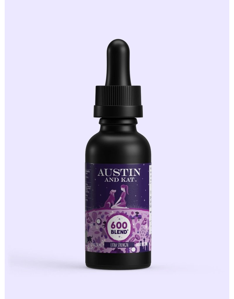 Austin and Kat High Potency Hemp Extract for Dogs