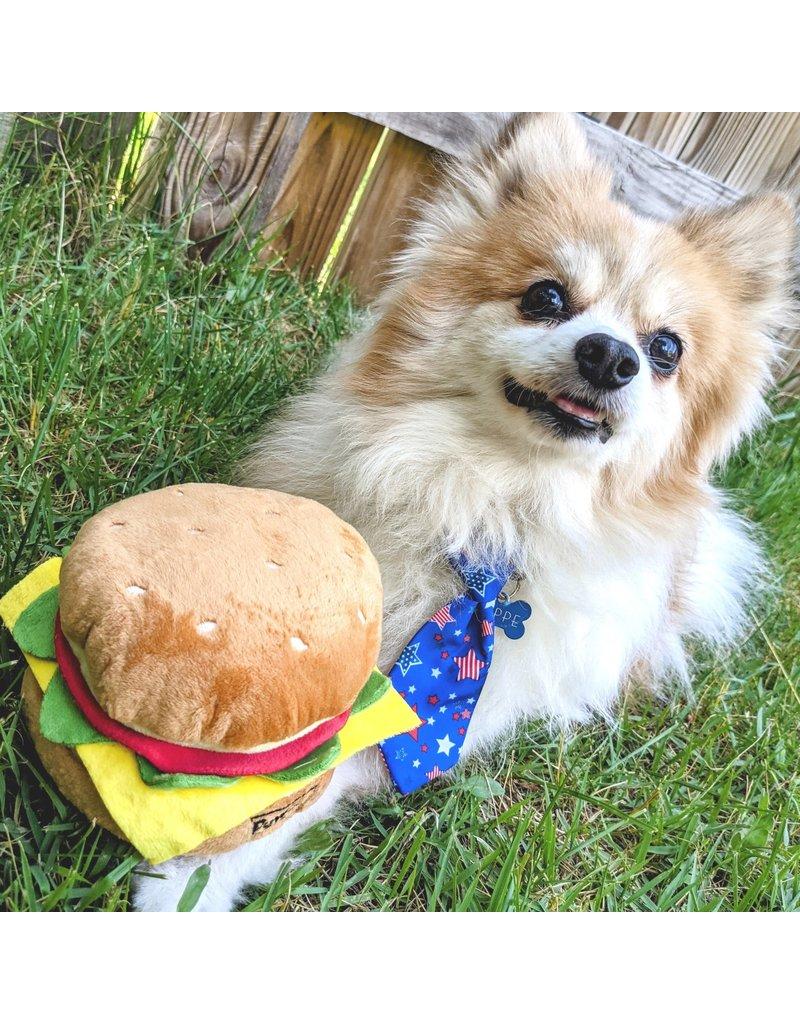 Huxley & Kent Lulubelles Power Plush Hamburger
