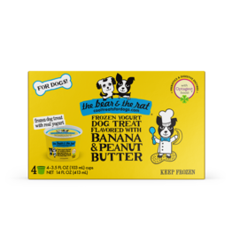 The Bear & The Rat Frozen Yogurt with Banana & Peanut Butter