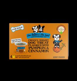 The Bear & The Rat Frozen Yogurt with Pumpkin & Cinnamon
