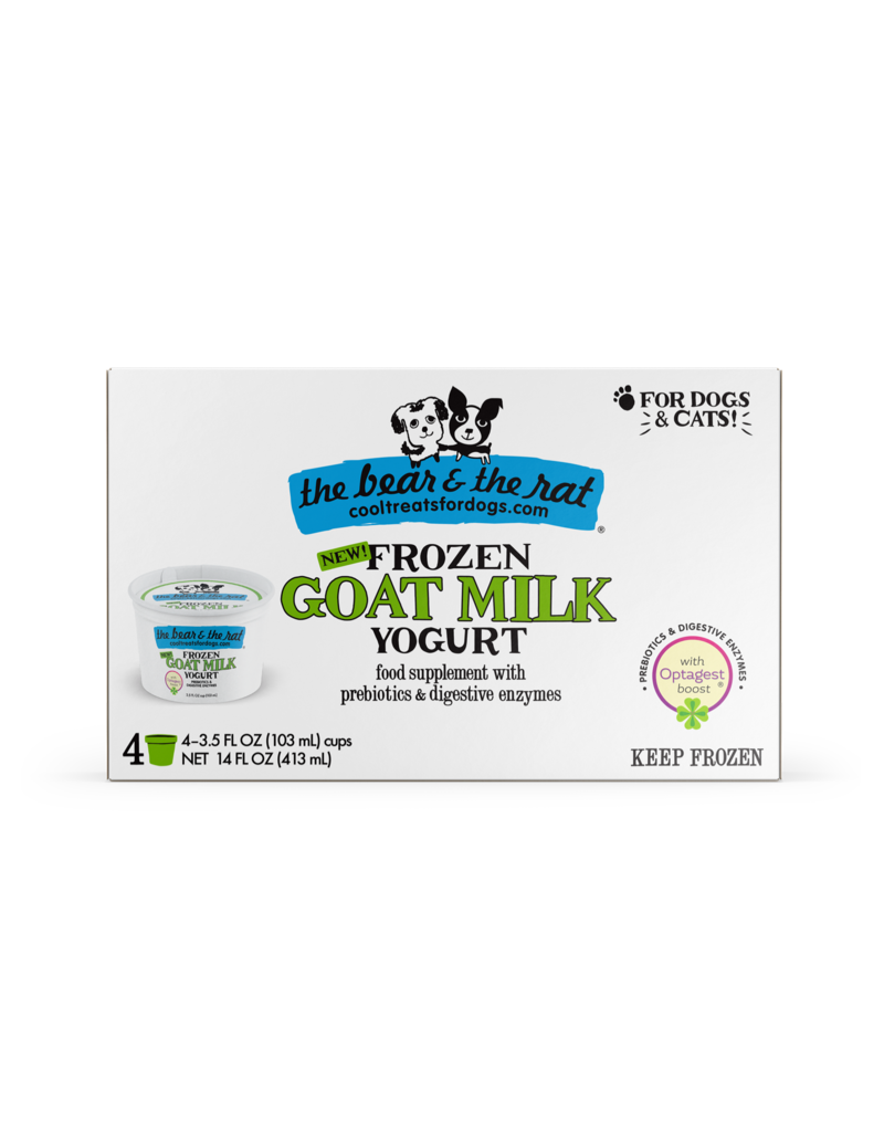 The Bear & The Rat Frozen Goat Milk Yogurt with Optagest Boost
