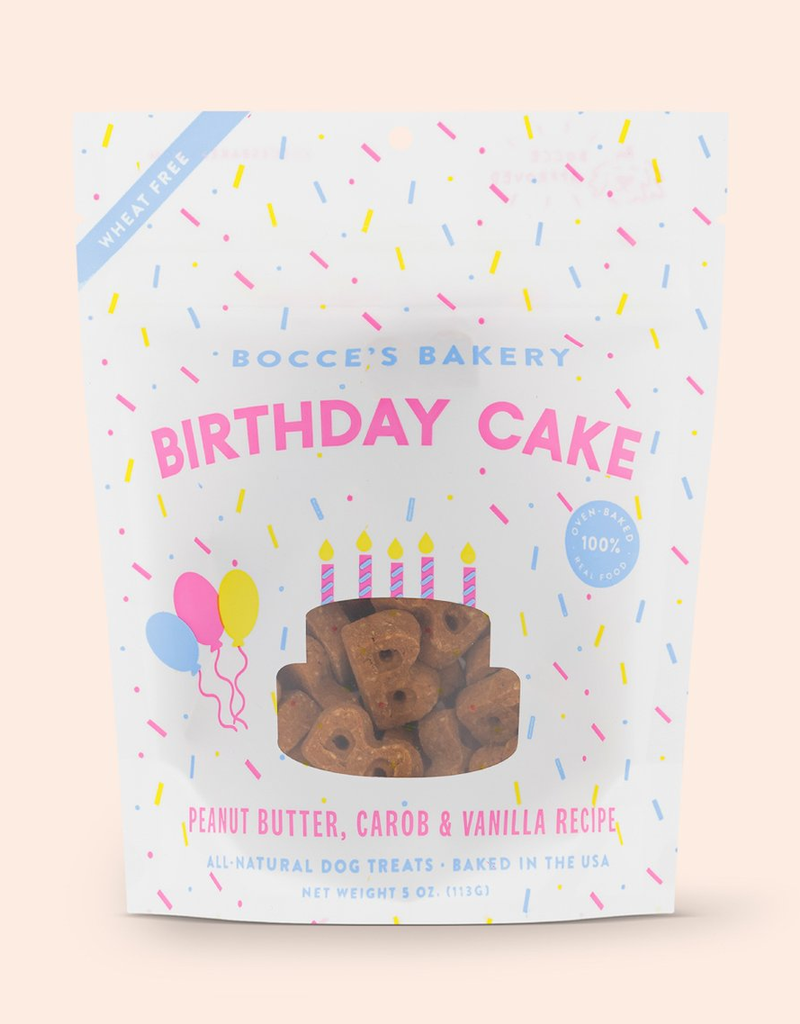 Bocce's Bakery Birthday Cake Biscuits