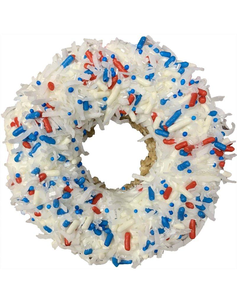 K9 Granola Factory Coconut Sparkler - Gourmet Donut Dog Treat