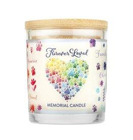 Furever Loved Memorial Candle