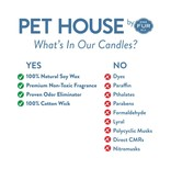 Pet House by One Fur All Bamboo Watermint Pet Odor Candle