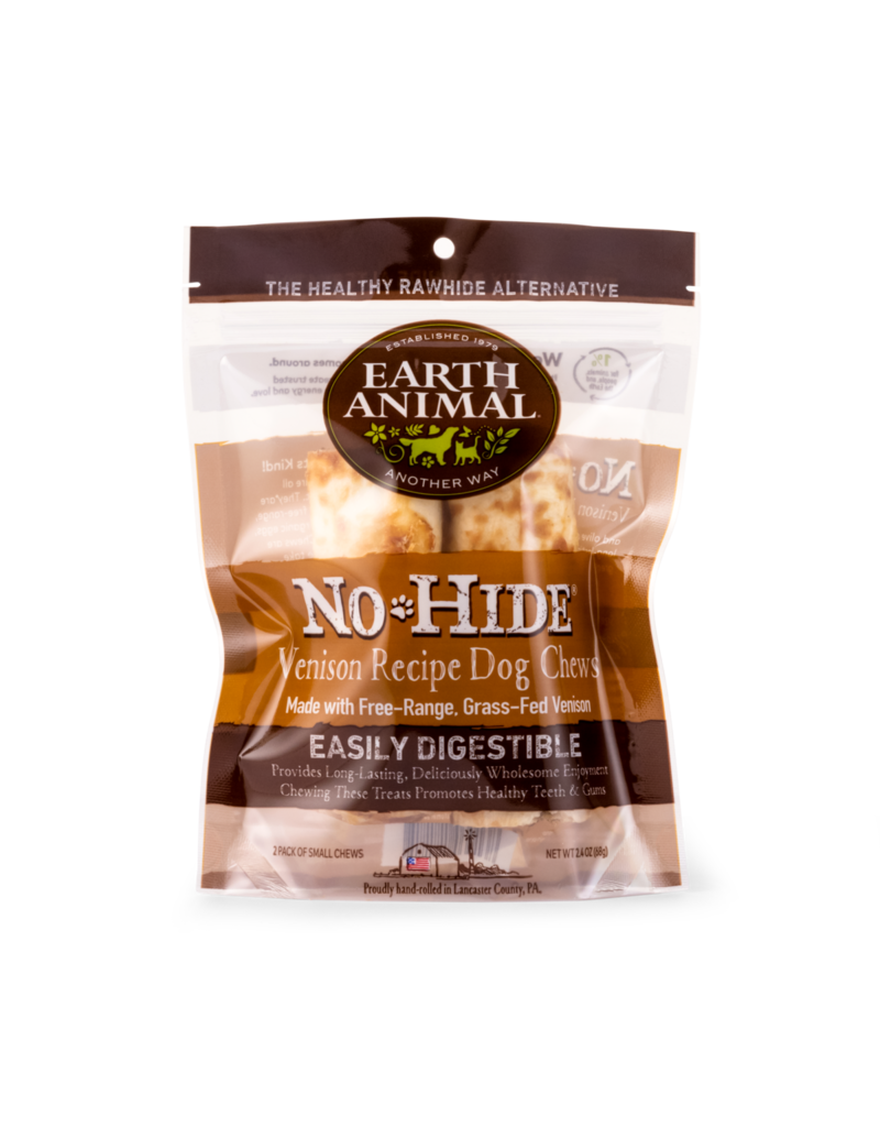 Earth Animal Venison No-Hide Wholesome Chews