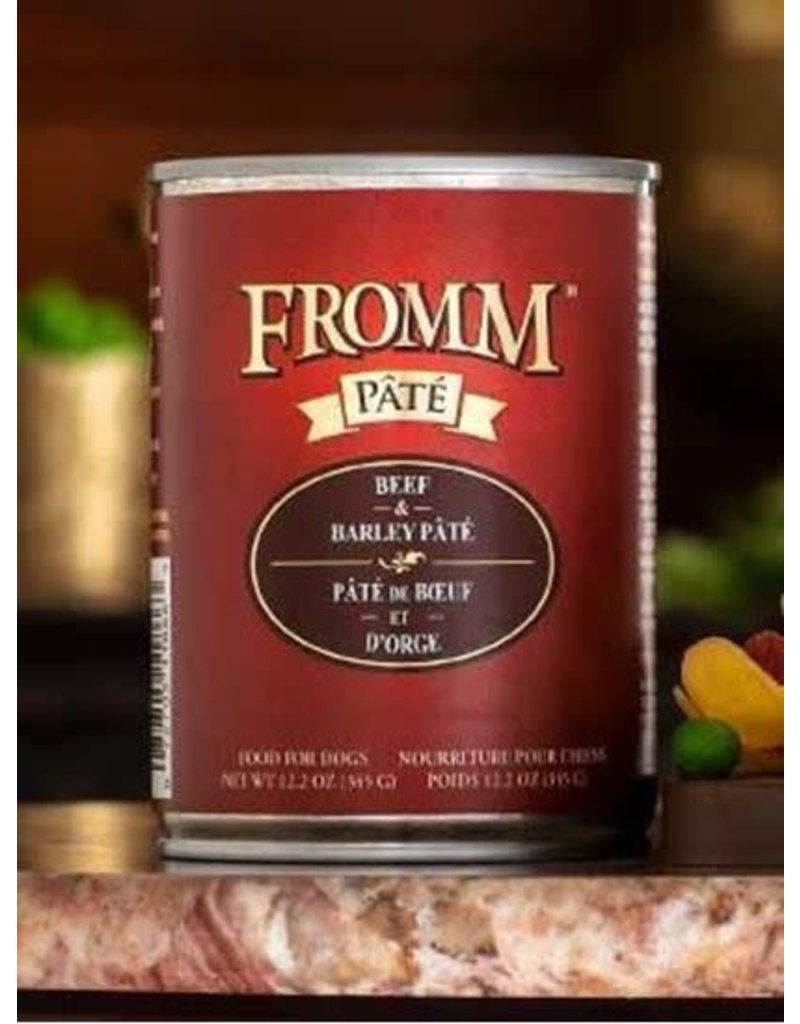 Fromm Family Beef & Barley Pate Dog Food