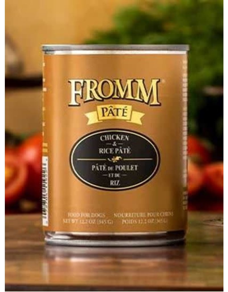 Fromm Family Chicken & Rice Pate Dog Food