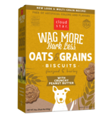 Wag More Bark Less Oven Baked Biscuits: Crunchy Peanut Butter
