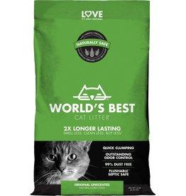World's Best Cat Litter World's Best Unscented Clumping Corn Cat Litter