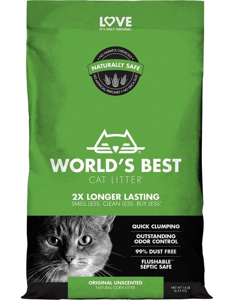 World's Best Cat Litter Original Unscented Clumping Corn Cat Litter