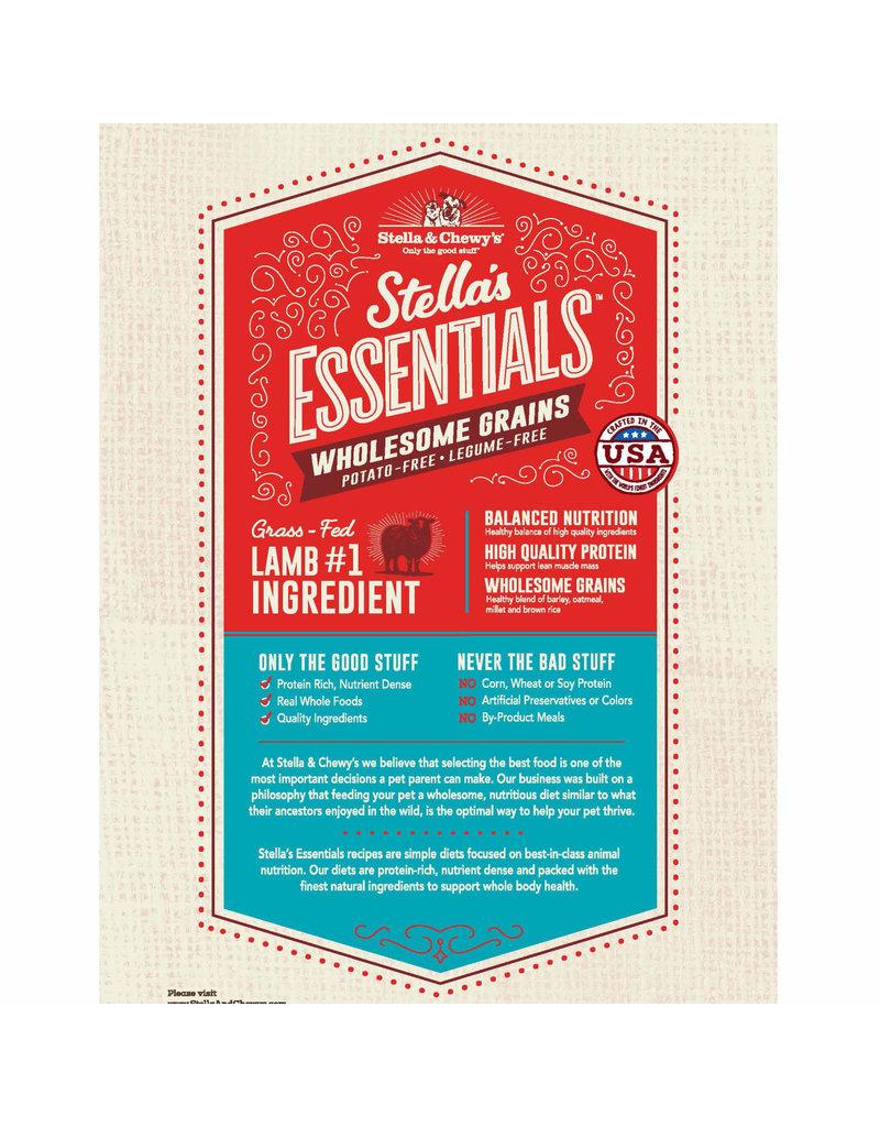 Stella & Chewy's Stella's Essentials Grass-Fed Lamb & Ancient Grains Kibble