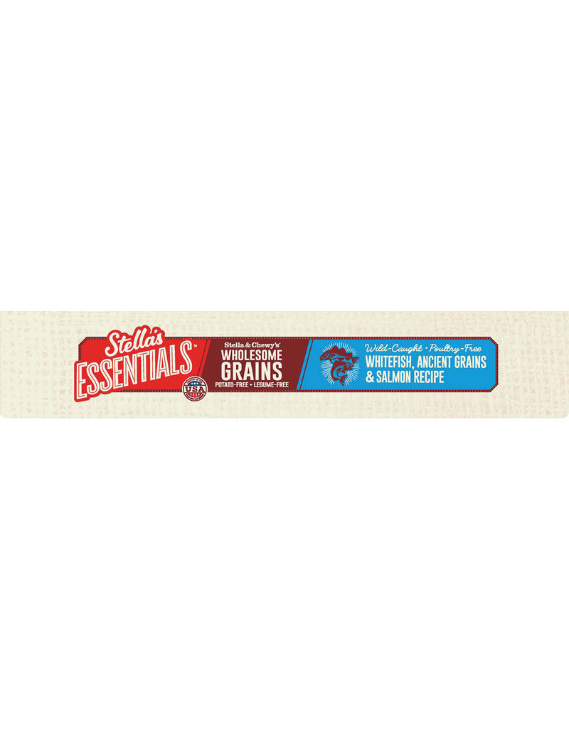 Stella & Chewy's Stella's Essentials Wild-Caught Whitefish, Ancient Grains & Salmon Kibble