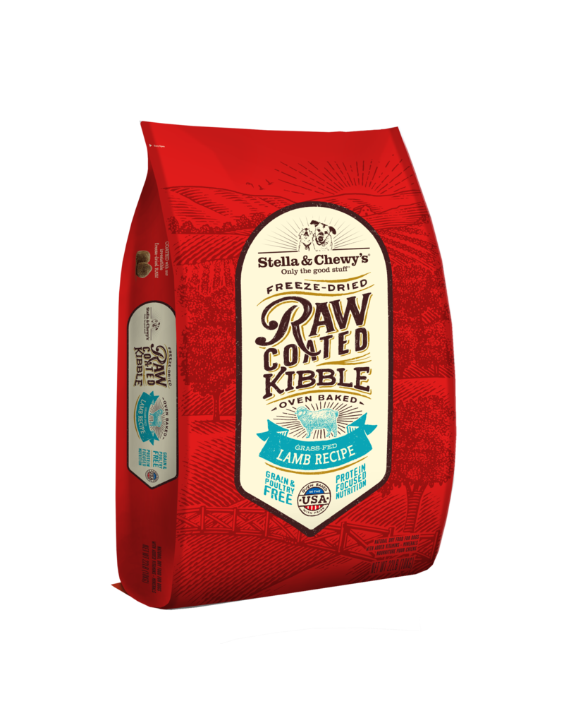 Stella & Chewy's Raw Coated Baked Kibble Grass-Fed Lamb