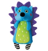KONG KONG Whoopz Hedgehog Squeaky Plush Dog Toy