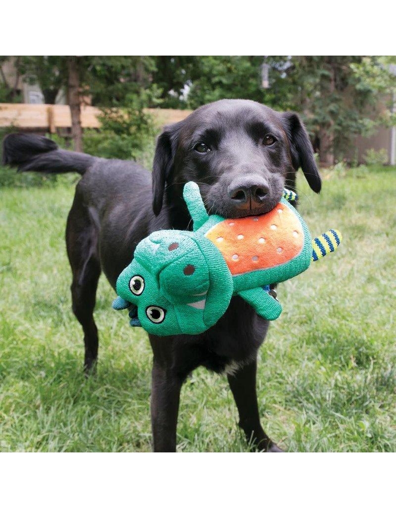 KONG KONG Whoopz Warthog Squeaky Plush Dog Toy