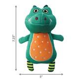 KONG KONG Whoopz Gator Squeaky Plush Dog Toy
