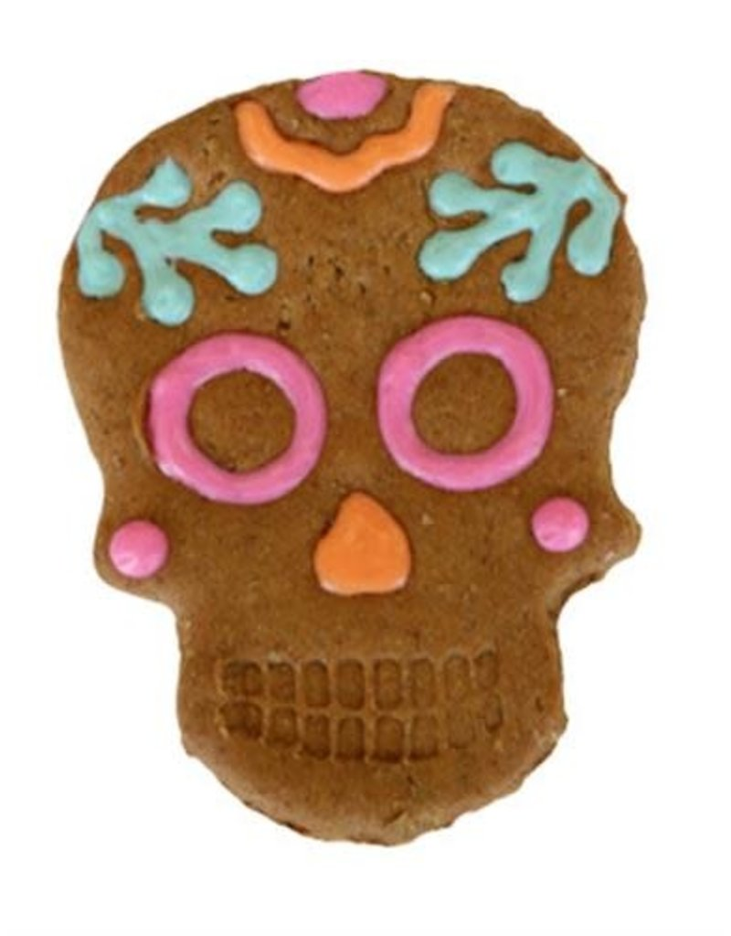 Preppy Puppy Bakery Day of the Dead Skull Cookie for Dogs