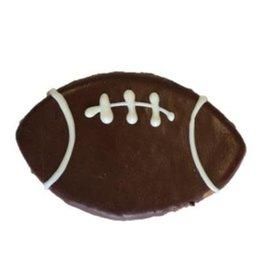 Preppy Puppy Bakery Football Cookie