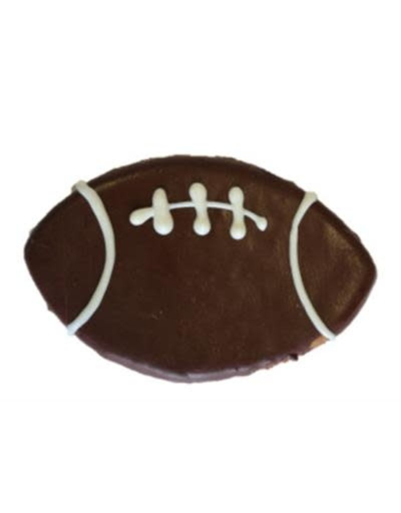 Preppy Puppy Bakery Football Cookie for Dogs