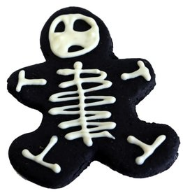 Preppy Puppy Bakery Skeleton Gingerbread Man Cookie