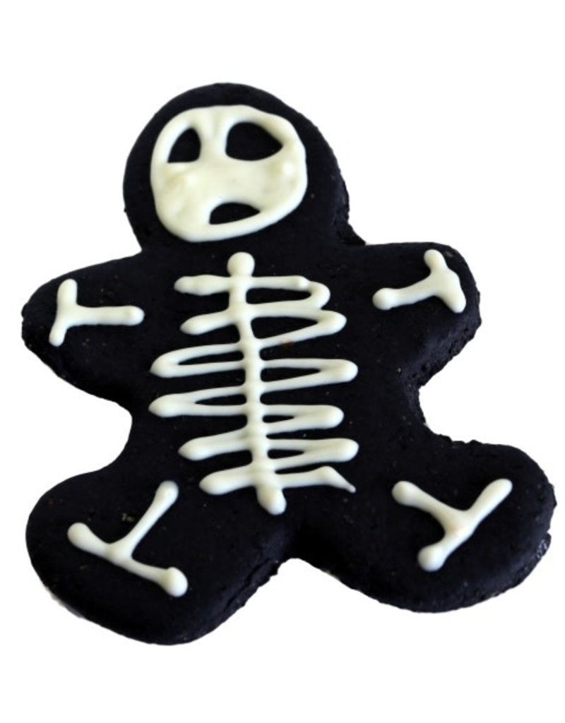 Preppy Puppy Bakery Skeleton Gingerbread Man Cookie for Dogs
