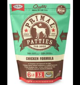 Primal Pet Foods Primal Raw Frozen Canine Chicken Formula 6lb