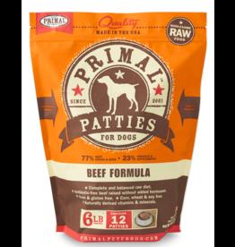 Primal Pet Foods Primal Raw Frozen Canine Beef Formula 6lb