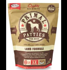 Primal Pet Foods Primal Raw Frozen Canine Lamb Formula 6lb